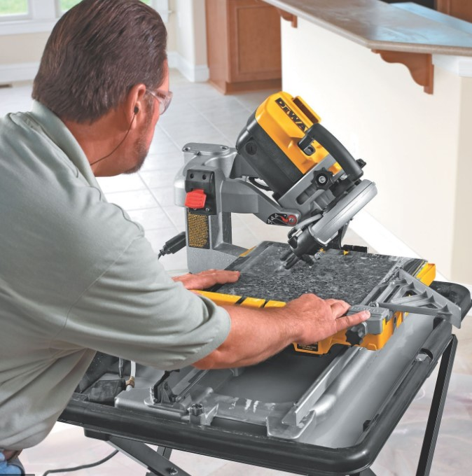 best wet tile saw brands